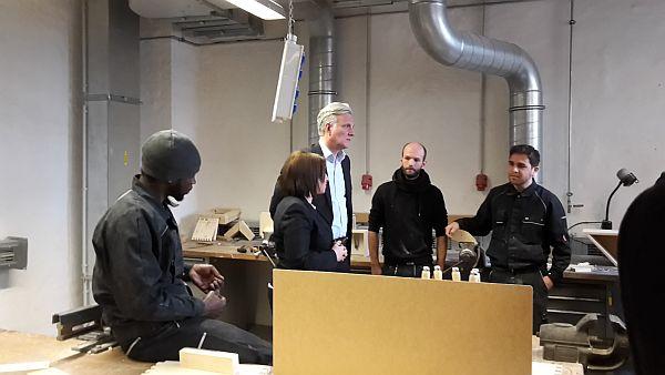 25.11.2015 | Projekt Arrivo Berlin in der Abendschau