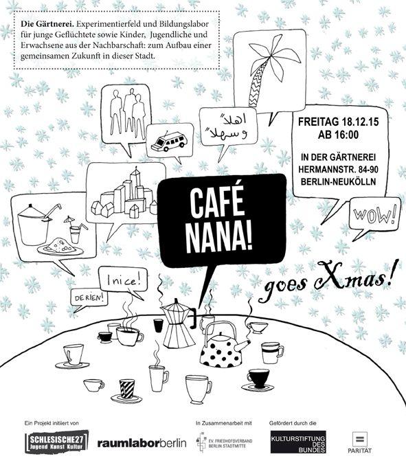 18.12., 16.00 Uhr | Café Nana | Gärtnerei Hermannstr. 84-90