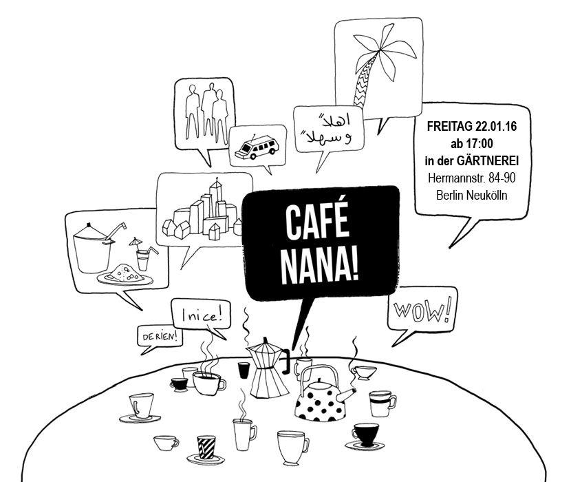 22.01., 17.00 Uhr | Wegen Inventur geöffnet | Café Nana, Gärtnerei
