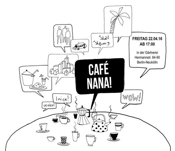 22.04., 17.00 Uhr | Café Nana | Gärtnerei