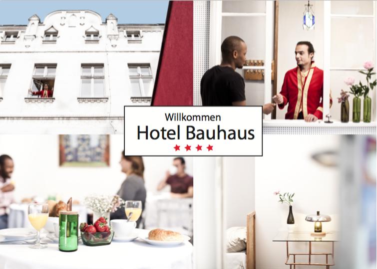11. Juni, 19 Uhr, Uraufführung Hotel Bauhaus