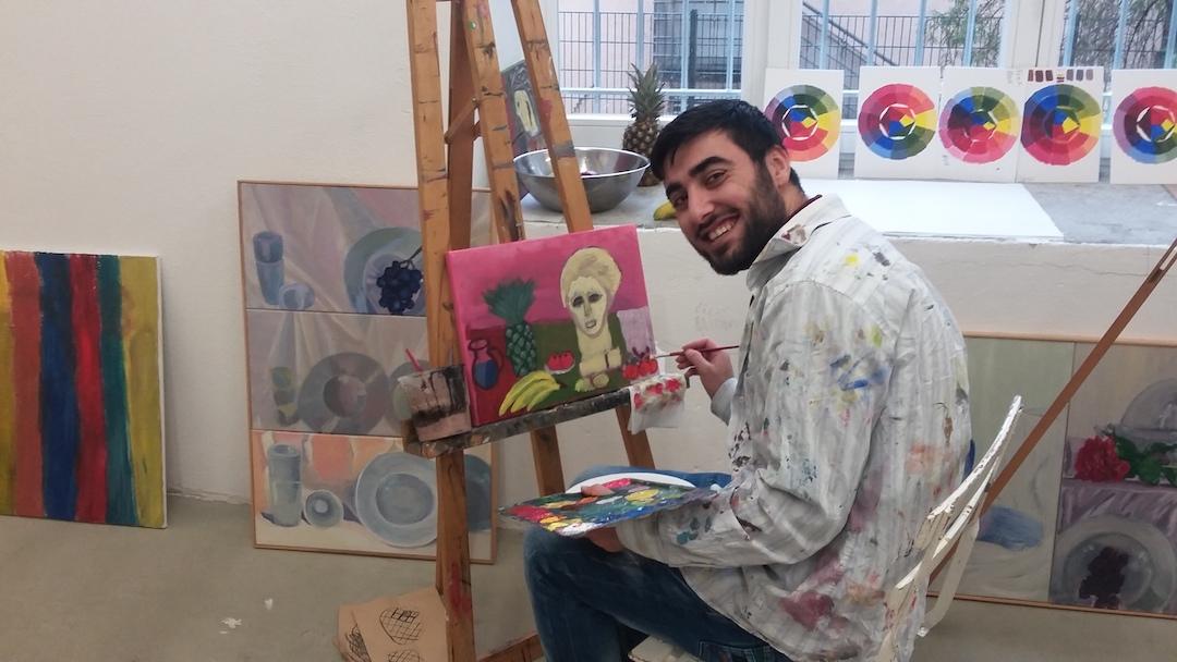 28.11.16 | Hier herrscht Malereibetrieb!