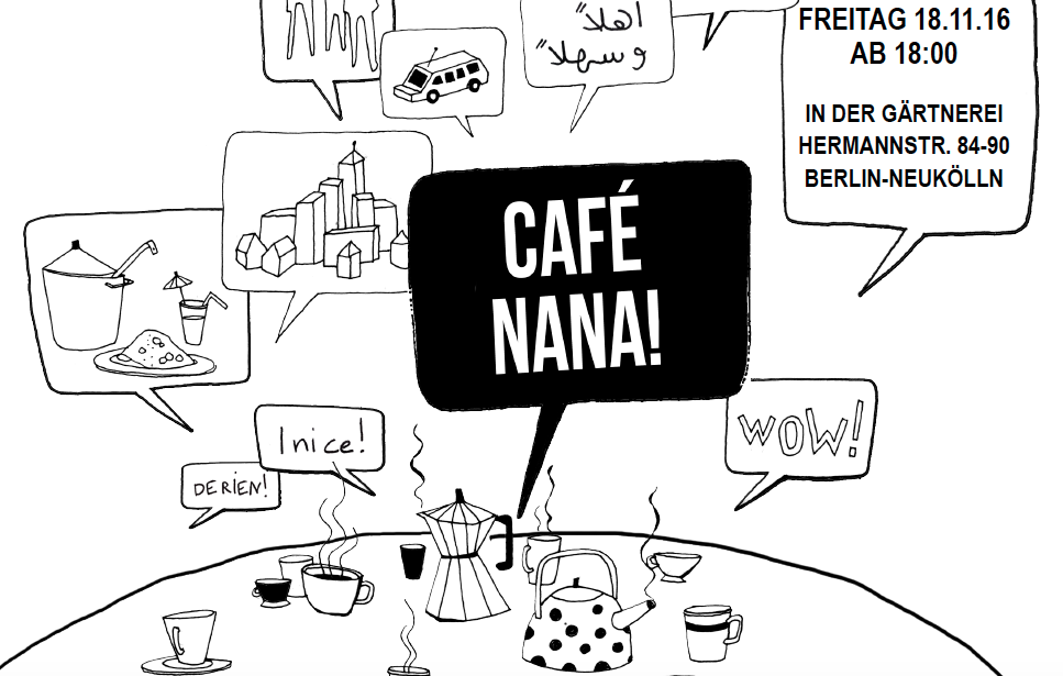 16.11.2016 | Café Nana goes Art