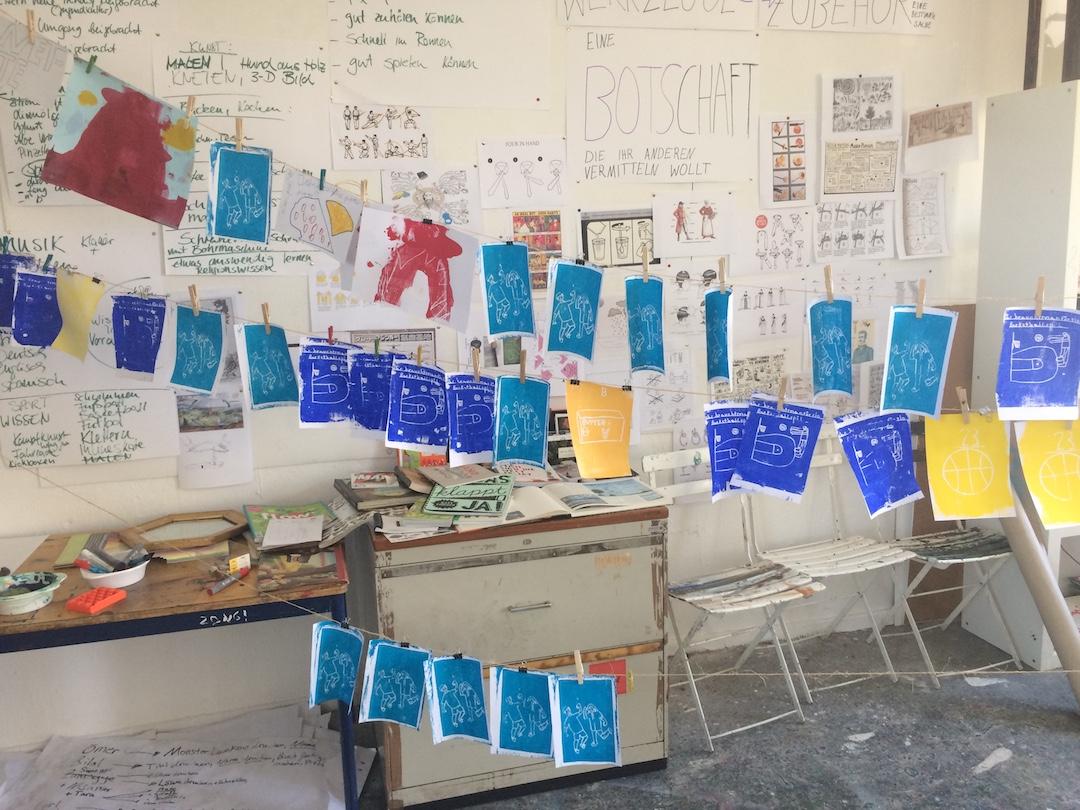 Berlin – Alexandria: Schulprojektwochen zum Thema Wissen
