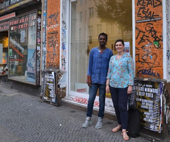 Artist Talk zwischen Lawrence Shabu Mwangi und Antonia Isabelle Weisz