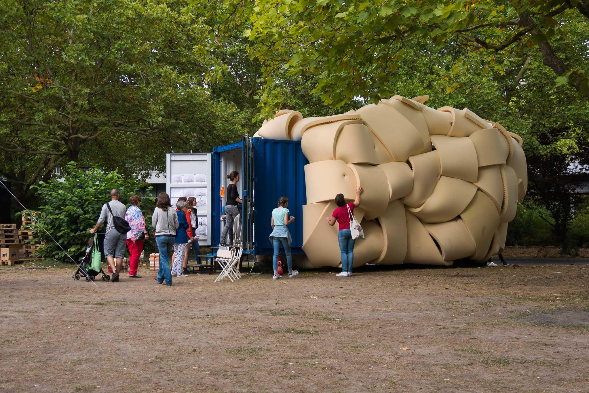 Wissenswolke auf dem Berliner Bibliotheksfestival