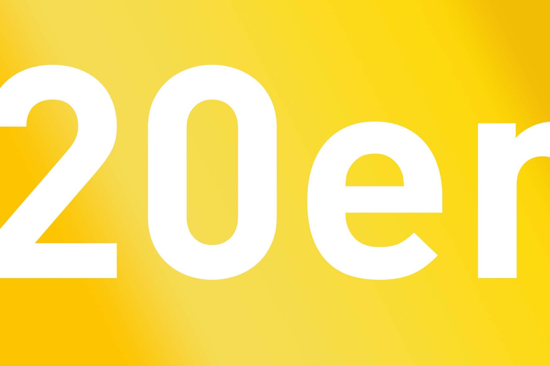 Wir wünschen allen Menschen auf der Welt goldene 20er Jahre!