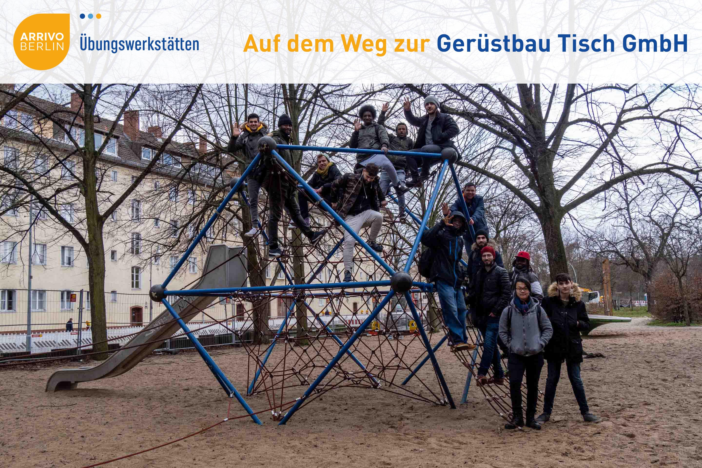 ARRIVO BERLIN Übungswerkstätten auf Exkursion!